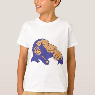 Pensée de chimpanzé t-shirt