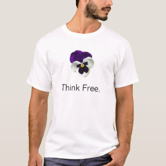Pensée de Freethought T-shirt