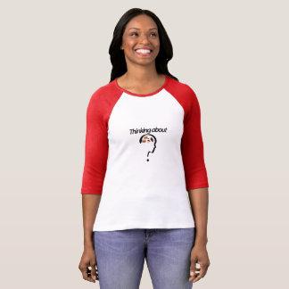 Pensée environ ? t-shirt