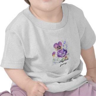 Pensées d'aquarelle t-shirt