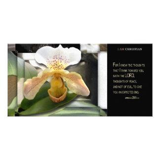 Pensées de paix photocartes personnalisées