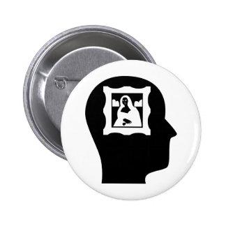 Penser à l'histoire d'art badges