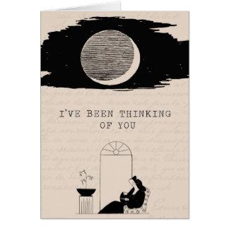 Penser à vous carte de vœux