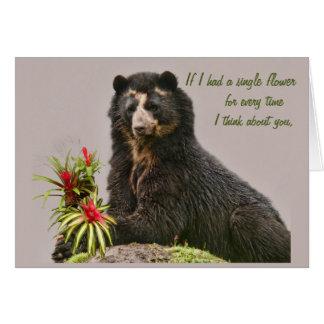 Pensez à vous Bubu Carte De Vœux