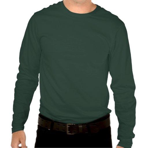 Pensez ambiant vert t-shirts
