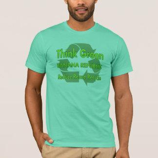 Pensez Banana Republic verte T-shirt