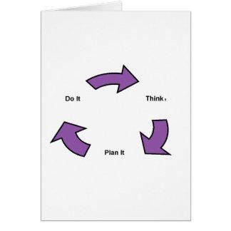 Pensez Carte De Vœux