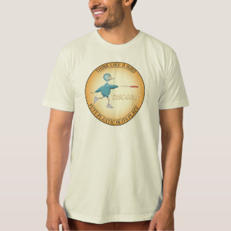 Pensez comme un oiseau t-shirt