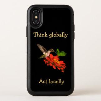 Pensez globalement le cas de l'iPhone X d'OtterBox
