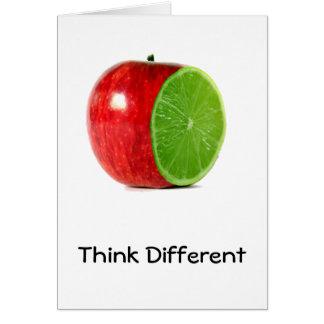 Pensez la carte différente