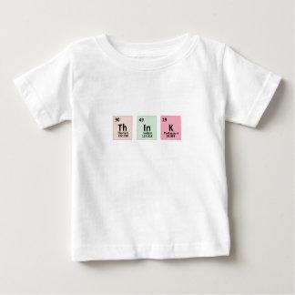 Pensez - la chimie t-shirt pour bébé