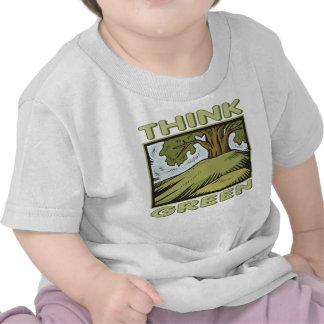 Pensez le chêne vert t-shirt