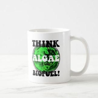 Pensez le combustible organique d'algues ! mug