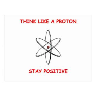 pensez le positif carte postale
