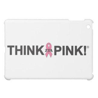 Pensez le rose coques iPad mini