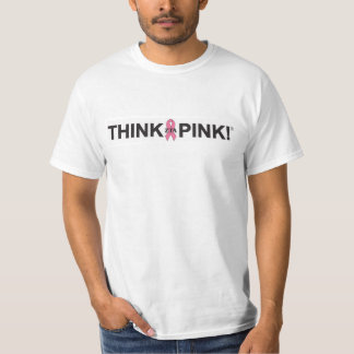 Pensez le rose t-shirt