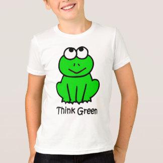 Pensez le T-shirt vert