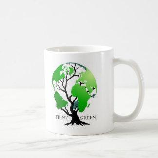 Pensez le vert mug