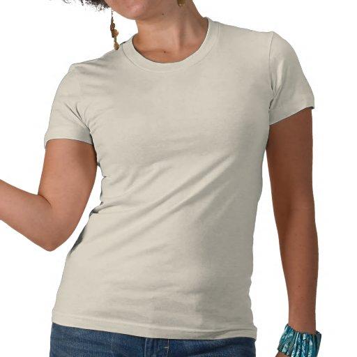 Pensez le vert vivant vert pour le jour de la terr t-shirts