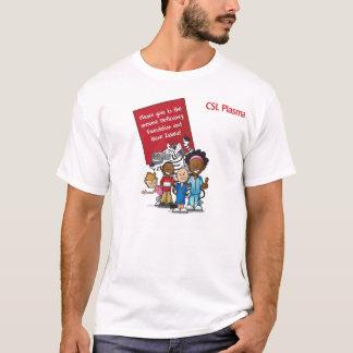 Pensez le zèbre 2011 t-shirt