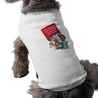 Pensez le zèbre 2011 t-shirt pour chien
