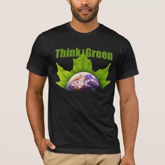 Pensez les T-shirts verts