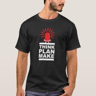 Pensez, prévoyez, faites, CUISEZ À LA VAPEUR, T-shirt
