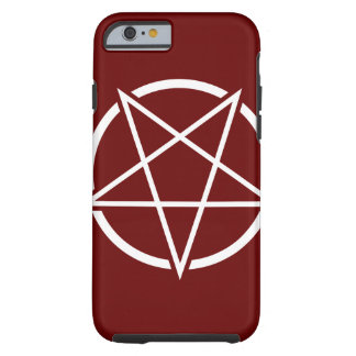 Pentagone étoilé No.1 (blanc) Coque iPhone 6 Tough