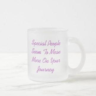 PeopleSeem spécial à MeanMore sur votre voyage,… Mug En Verre Givré