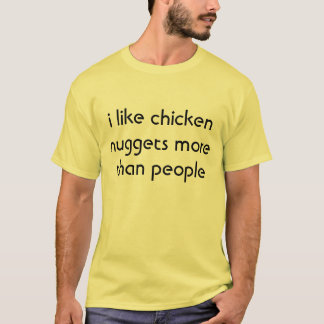 pépites de poulet t-shirt