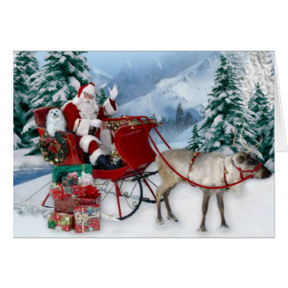 Perce-neige la carte de Noël maltaise