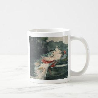 Perche noire Winslow Homer Mug Blanc