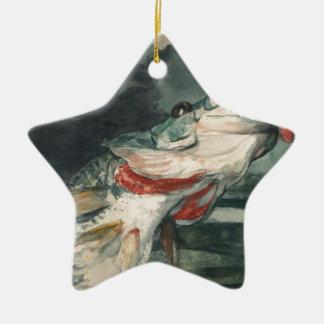 Perche noire Winslow Homer Ornement Étoile En Céramique