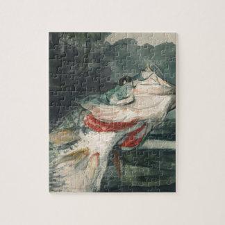Perche noire Winslow Homer Puzzles Avec Photo