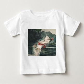 Perche noire Winslow Homer T-shirt Pour Bébé
