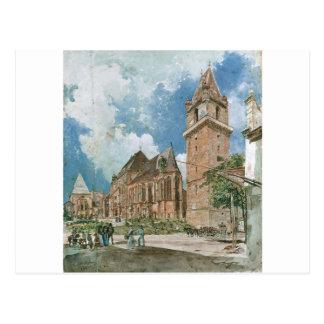 Perchtoldsdorf par Rudolf von Alt Carte Postale