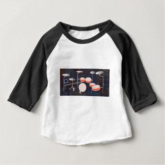 Percussion de couleur t-shirt pour bébé