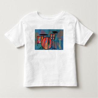 Percussion T-shirt Pour Les Tous Petits