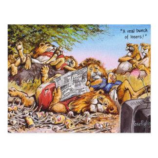 Perdants ! carte postale