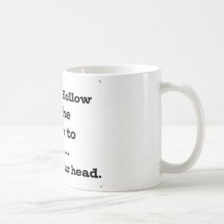 Perdez votre tête en cavité somnolente mug