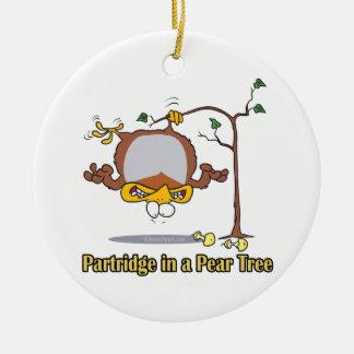 perdrix dans Noël de jour de poirier ęr premier Décorations De Noël