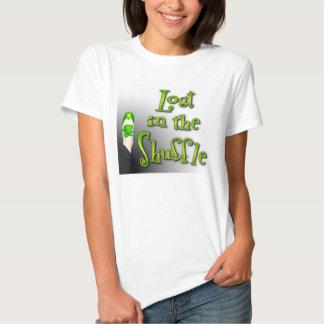 Perdu dans le T-shirt de danse de robinet de pas