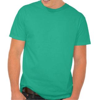 Perdu en Italie - coeur italien de drapeau T-shirts