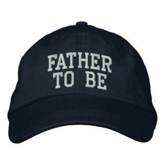 Père à être casquette brodée