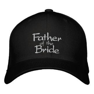 Père de la jeune mariée casquette brodée