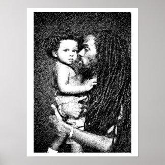 Père et fils affiches