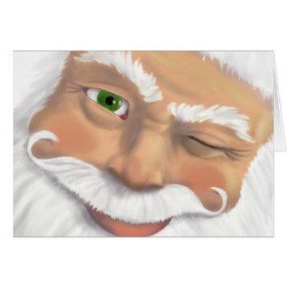 Père Noël a approuvé - la chromatographie gazeuse Carte De Vœux