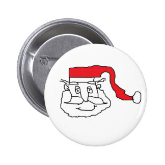 Père Noël Badge