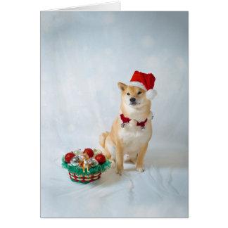 Père Noël Barkley, enveloppe de la carte de voeux