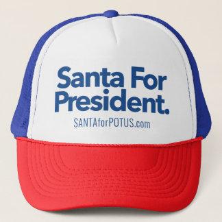 """""""Père Noël casquette de camionneur pour président"""""""